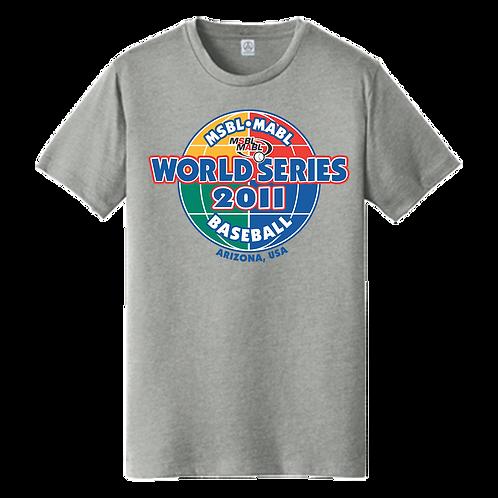 2011 MSBL / MABL World Series Shirt