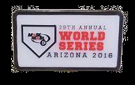 MSBL 2016 World Series Patch