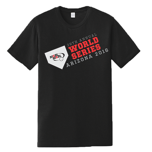 2016 MSBL / MABL World Series Shirt
