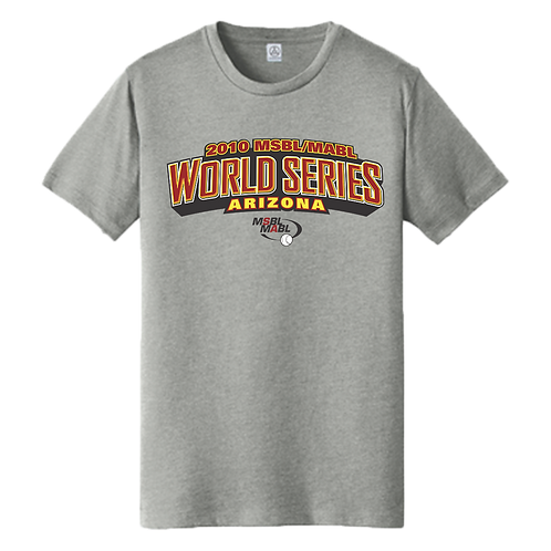2010 MSBL / MABL World Series Shirt