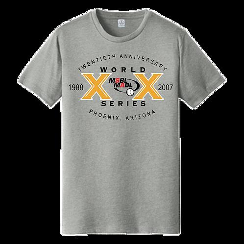 2007 MSBL/MABL World Series Shirt
