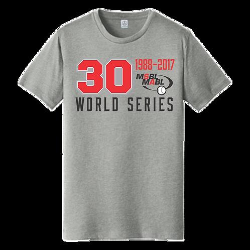 2017 MSBL / MABL World Series Shirt