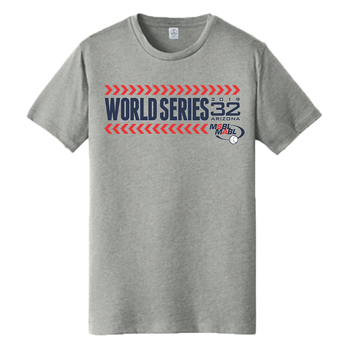 2019 MSBL / MABL World Series Shirt