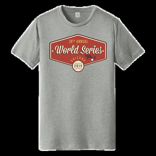 2015 MSBL / MABL World Series Shirt