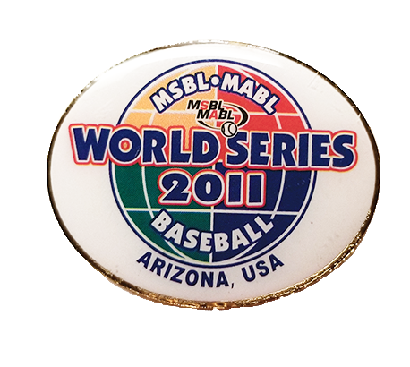 2011 MSBL World Series Collector's Pin