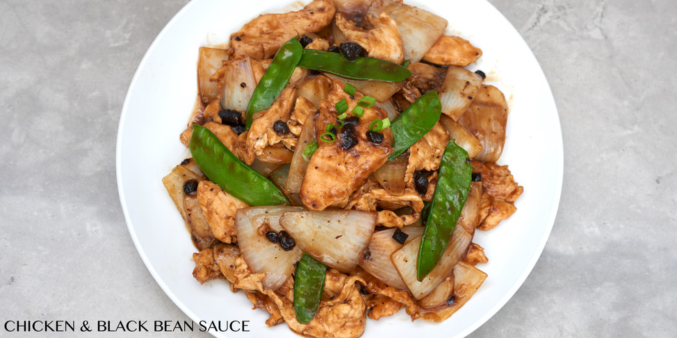 CHICKEN AND BLACK BEAN SAUCE - CHEF CO R