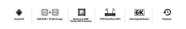 S2 Pro-Android 9-ARM A53 processor-6K-Wi