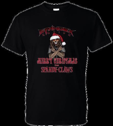 Spandex Nation T-Shirt, Metal Shirt, 80's Hair Metal, Rock Shirt, Spandex Nation Spandy Claws Shirt