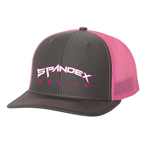 Spandex Nation Hat, Metal Band Hat, 80's Hair Metal, Rock Cap, Spandex Nation Cap