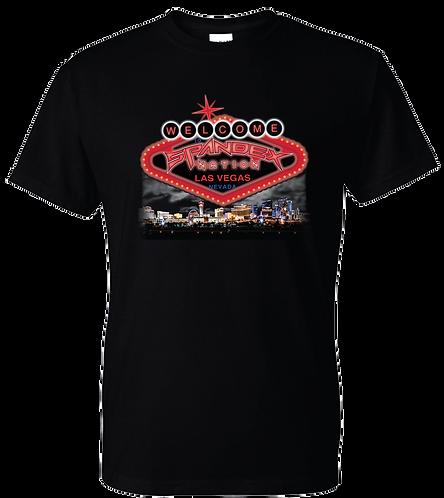 Spandex Nation T-Shirt, Metal Shirt, 80's Hair Metal, Rock Shirt, Spandex Nation City Scape Shirt