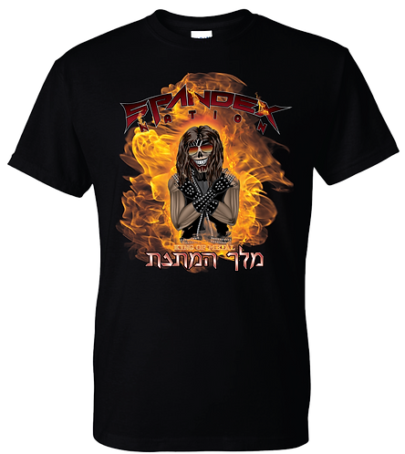 Spandex Nation Shirt, Metal Shirt, 80's Hair Metal, Rock Shirt, King of Metal Shirt