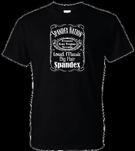 Spandex Nation T-Shirt, Metal Shirt, 80's Hair Metal, Rock Shirt, Spandaniels Shirt