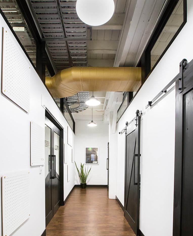 THE STUDIO AT SCA - Brisbane  interior design, custom build, install & styling  NOV 2016
