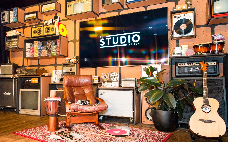 THE STUDIO AT SCA - Melbourne  design, custom build, install & styling  JAN 2016