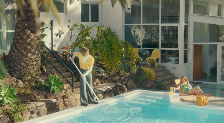 'As Long As You Care' music video for artist RUEL  Production Design & Set Styling