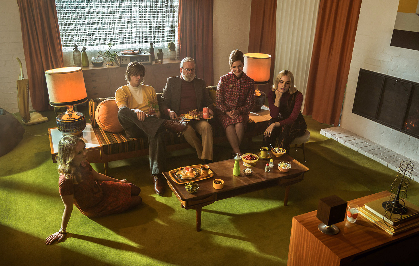 Set Stills of 'As Long As You Care' music video for artist RUEL  Production Design & Set Styling