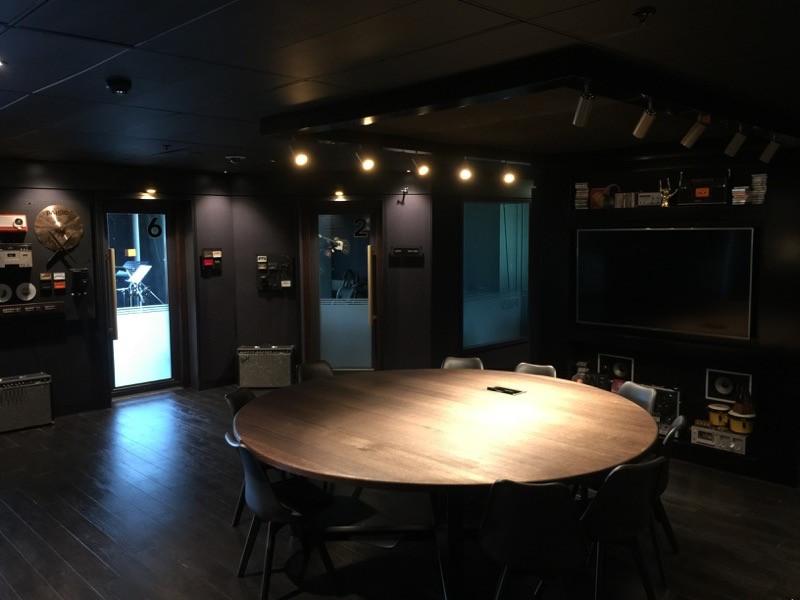 THE STUDIO AT SCA - Sydney  design, custom build, install & styling  SEPT 2016
