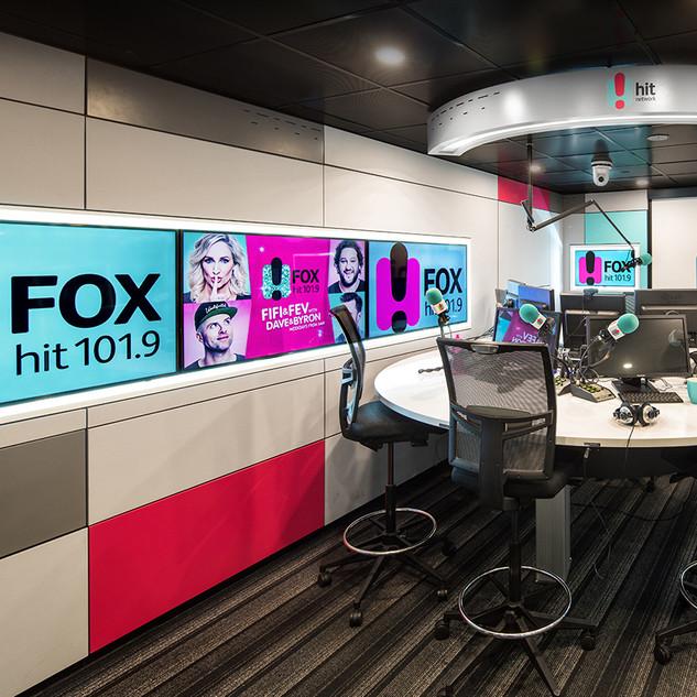 FOX FM BRAODCASTING STUDIOS - MELBOURNE