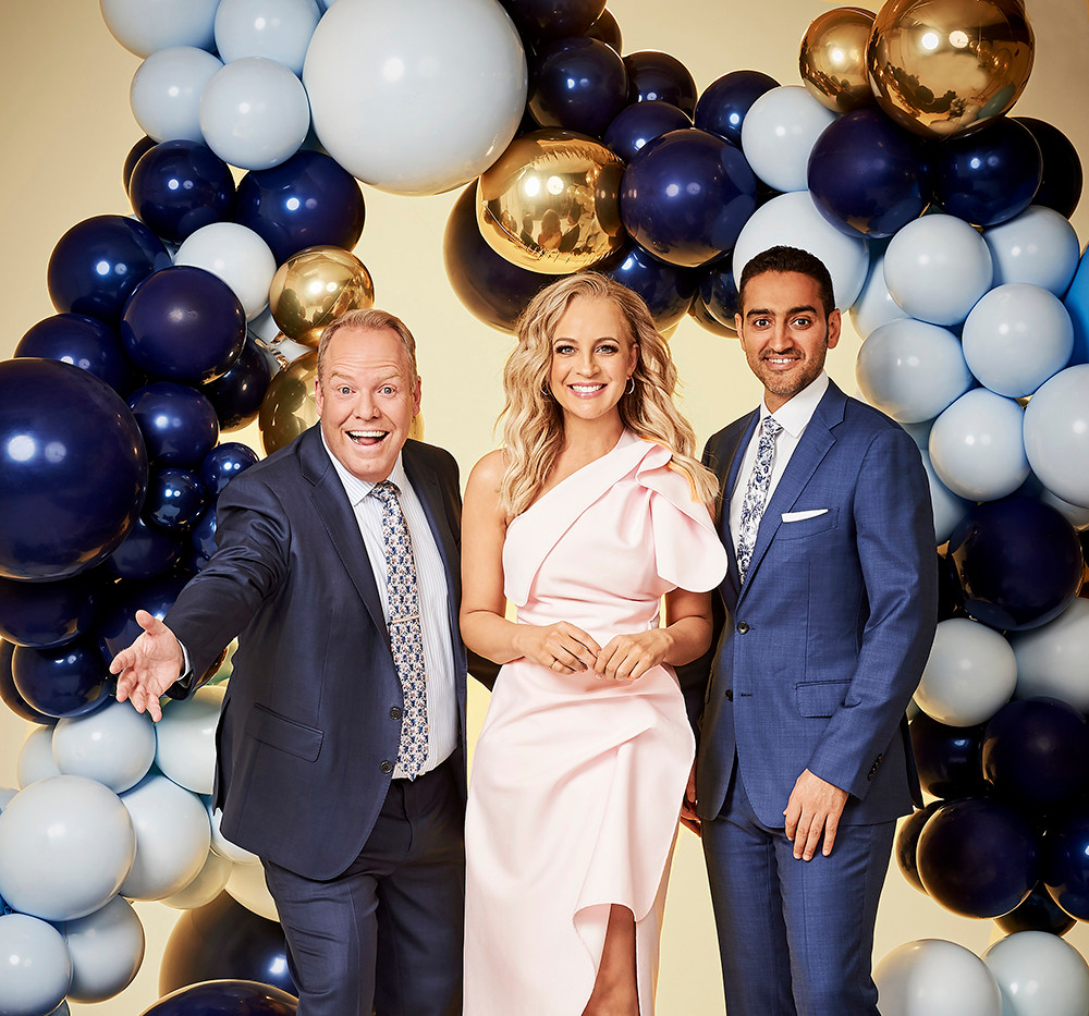 The Project - Carrie Bickmore, Waleed Aly & Peter Helliar  Art Direction & Set Styling  2019