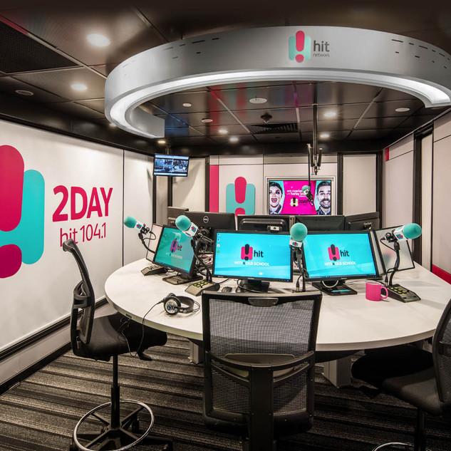 2DAY FM BROADCASTING STUDIOS