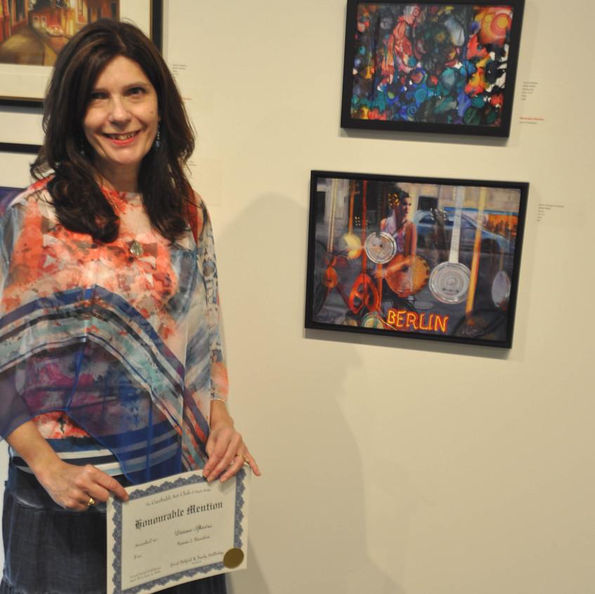 Diane Speirs, Honourable Mention Award