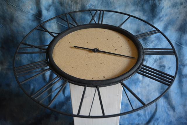 """Sculpture """"Les traces du temps"""""""