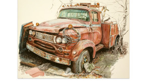 Coffee Cup Tow Truck