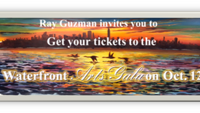 I  will be exhibiting at the Waterfront Arts Gala on Oct. 12