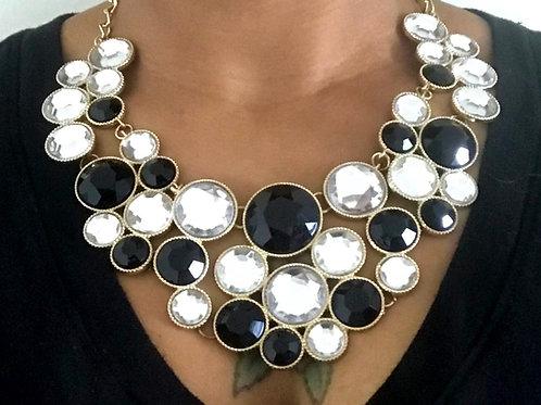 Let Your Sparkle Shine Bib Necklace