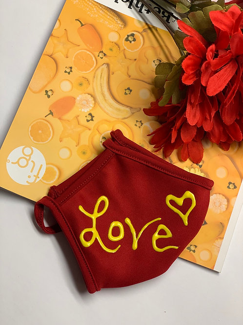 Love Message Mask 💛