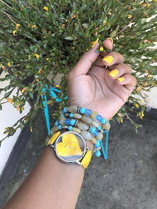 Wrap Around Bead Bracelet