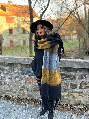 Free To Dream Oversized Scarf