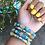 Thumbnail: Wrap Around Bead Bracelet
