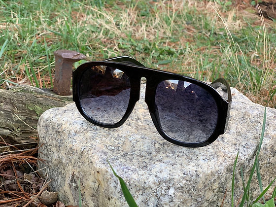 Skies The Limit Oversized  Oval Sunglasses