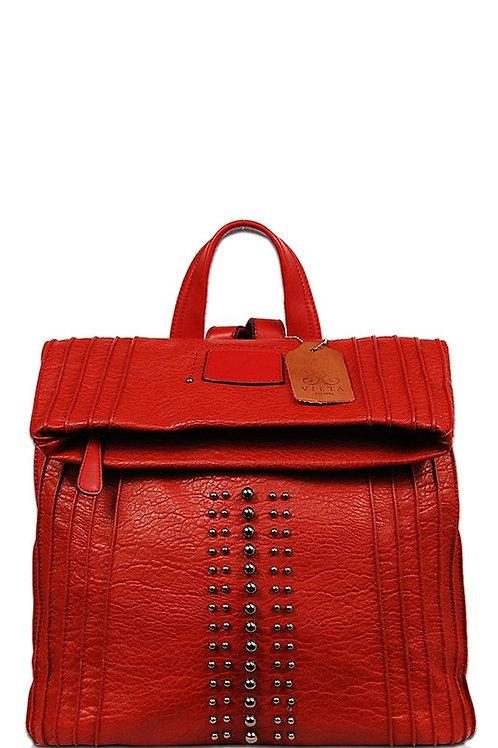 Studded Fashion Backpack Handbag