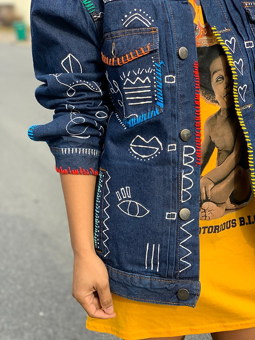 Do More of What You Love Denim Jacket