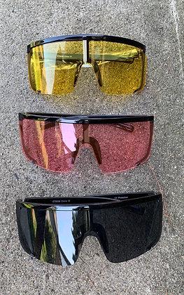 Shielded By Strength Women's Oversized Sunglasses