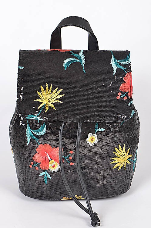 Flower Sequence Backpack