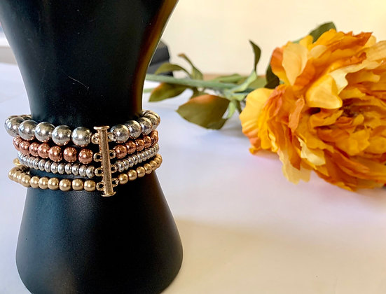 Multi Color Beaded Bracelets