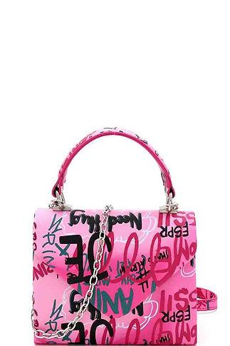Pink small graffit bag 101220.jpg