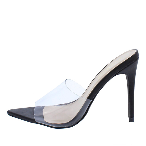 Belle Peep Toe Pump