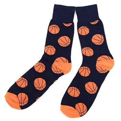 Men's Basketball Pattern Socks