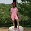 Thumbnail: Keep Things Simple Pink Biker Set