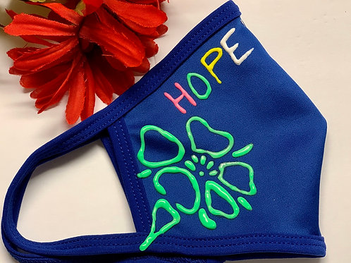 Hope Flower Mask