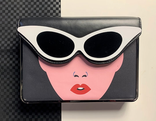 Yes, this girl can statement handbag