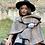 Thumbnail: Wrapped in Warm Embrace Poncho Style Wrap