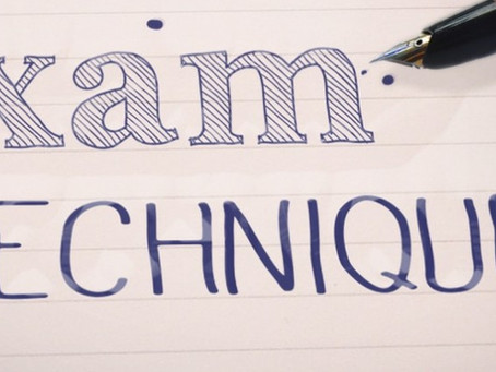 Exam technique: a moral dilemma
