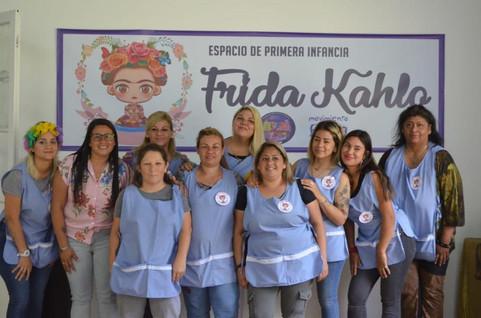 SE INAUGURÓ EL ESPACIO DE PRIMERA INFANCIA FRIDA KAHLO