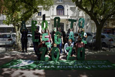 Acciones: ES URGENTE ABORTO LEGAL 2020