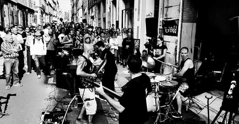 Ex'Odd @La Rue du Rock Marseille